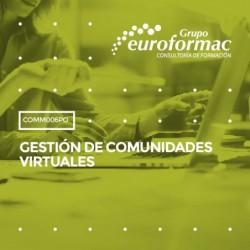 COMM006PO - GESTIÓN DE COMUNIDADES VIRTUALES--ONLINE  100 horas