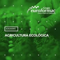 AGAU003PO - AGRICULTURA ECOLÓGICA--ONLINE  30 horas