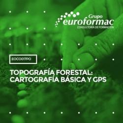 EOCO017PO - TOPOGRAFÍA FORESTAL: CARTOGRAFÍA BÁSICA Y GPS--ONLINE  30 horas