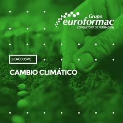 SEAG005PO - CAMBIO CLIMÁTICO--ONLINE  40 horas