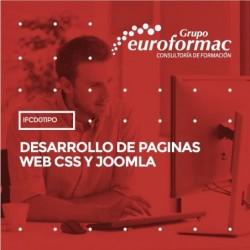 IFCD011PO - DESARROLLO DE PAGINAS WEB CSS Y JOOMLA--ONLINE  100 horas