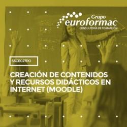 SSCE027PO - CREACIÓN DE CONTENIDOS Y RECURSOS DIDÁCTICOS EN INTERNET (MOODLE)--ONLINE  90 horas