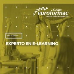 SSCE071PO - EXPERTO EN E-LEARNING--ONLINE  70 horas