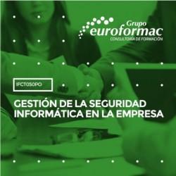 IFCT050PO - GESTIÓN DE LA SEGURIDAD INFORMÁTICA EN LA EMPRESA--ONLINE  100 horas