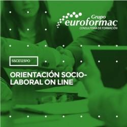 SSCE123PO - ORIENTACIÓN SOCIO-LABORAL ON LINE--ONLINE  50 horas