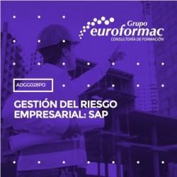 ADGG028PO - GESTIÓN DEL RIESGO EMPRESARIAL: SAP--ONLINE  30 horas