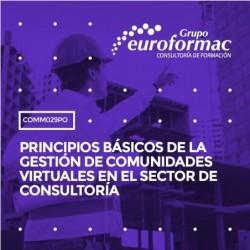 COMM029PO - PRINCIPIOS BÁSICOS DE LA GESTIÓN DE COMUNIDADES VIRTUALES EN EL SECTOR DE CONSULTORÍA--ONLINE  35 horas
