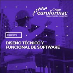 IFCD019PO - DISEÑO TÉCNICO Y FUNCIONAL DE SOFTWARE--ONLINE  10 horas
