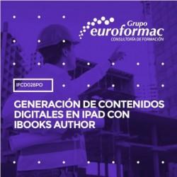 IFCD028PO - GENERACIÓN DE CONTENIDOS DIGITALES EN IPAD CON IBOOKS AUTHOR--ONLINE  16 horas