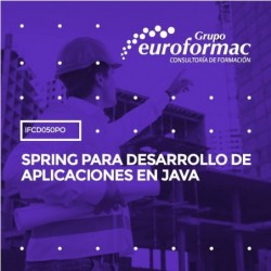 IFCD050PO - SPRING PARA DESARROLLO DE APLICACIONES EN JAVA--ONLINE  20 horas