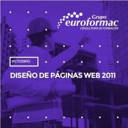IFCT039PO - DISEÑO DE PÁGINAS WEB 2011--ONLINE  50 horas