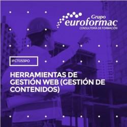 IFCT053PO - HERRAMIENTAS DE GESTIÓN WEB (GESTIÓN DE CONTENIDOS)--ONLINE  40 horas
