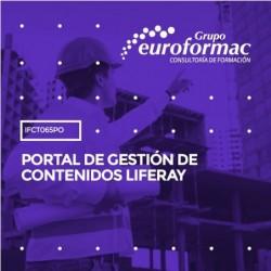 IFCT065PO - PORTAL DE GESTIÓN DE CONTENIDOS LIFERAY--ONLINE  16 horas