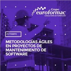 IFCT068PO - METODOLOGÍAS ÁGILES EN PROYECTOS DE MANTENIMIENTO DE SOFTWARE--ONLINE  25 horas