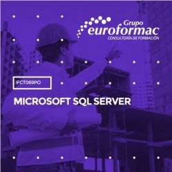 IFCT069PO - MICROSOFT SQL SERVER--ONLINE  45 horas