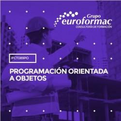 IFCT089PO - PROGRAMACIÓN ORIENTADA A OBJETOS--ONLINE  35 horas