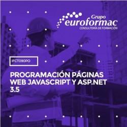 IFCT090PO - PROGRAMACIÓN PÁGINAS WEB JAVASCRIPT Y ASP.NET 3.5--ONLINE  80 horas