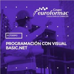 IFCT093PO - PROGRAMACIÓN CON VISUAL BASIC.NET--ONLINE  18 horas