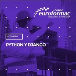 IFCT095PO - PYTHON Y DJANGO--ONLINE  40 horas