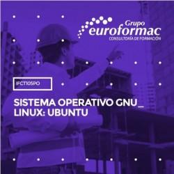 IFCT105PO - SISTEMA OPERATIVO GNU_LINUX: UBUNTU--ONLINE  30 horas