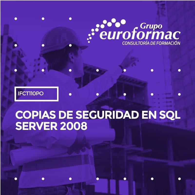 COPIAS DE SEGURIDAD EN SQL SERVER 2008