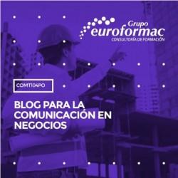 COMT104PO - BLOG PARA LA COMUNICACIÓN EN NEGOCIOS--ONLINE  20 horas