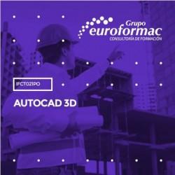 IFCT021PO - AUTOCAD 3D--ONLINE  70 horas