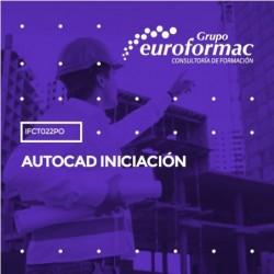 IFCT022PO - AUTOCAD INICIACIÓN--ONLINE  30 horas