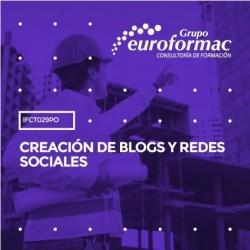 IFCT029PO - CREACIÓN DE BLOGS Y REDES SOCIALES--ONLINE  60 horas