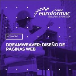 IFCT040PO - DREAMWEAVER: DISEÑO DE PÁGINAS WEB--ONLINE  70 horas