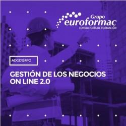 ADGD124PO - GESTIÓN DE LOS NEGOCIOS ON LINE 2.0--ONLINE  210 horas