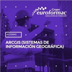 IFCT015PO - ARCGIS (SISTEMAS DE INFORMACIÓN GEOGRÁFICA)--ONLINE  16 horas