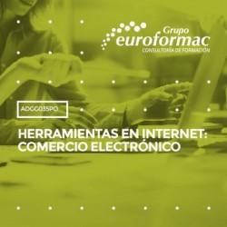 ADGG035PO - HERRAMIENTAS EN INTERNET: COMERCIO ELECTRÓNICO--ONLINE  80 horas