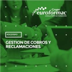 ADGD115PO - GESTION DE COBROS Y RECLAMACIONES--ONLINE  16 horas