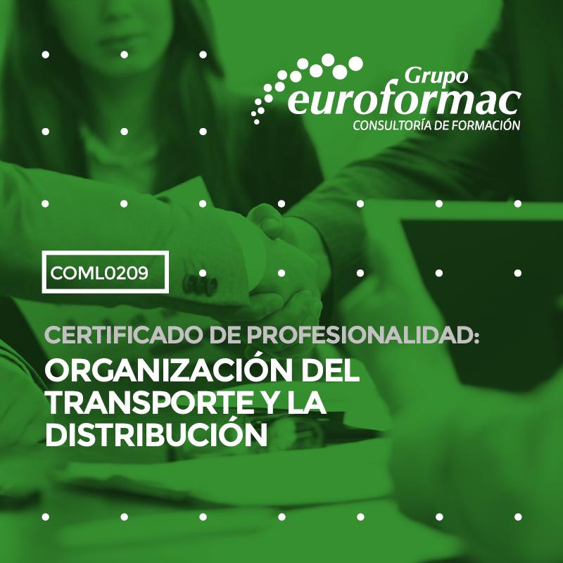 CERTIFICADO DE PROFESIONALIDAD: ORGANIZACIÓN DEL TRANSPORTE Y LA DISTRIBUCIÓN