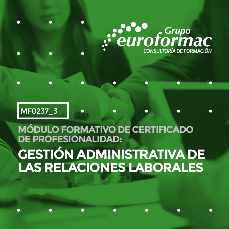 GESTIÓN ADMINISTRATIVA DE LAS RELACIONES LABORALES - AUTÓNOMOS