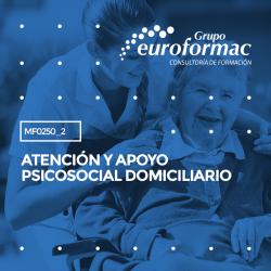 MF0250_2 - Atención y apoyo psicosocial domiciliario--MIXTA  210 horas