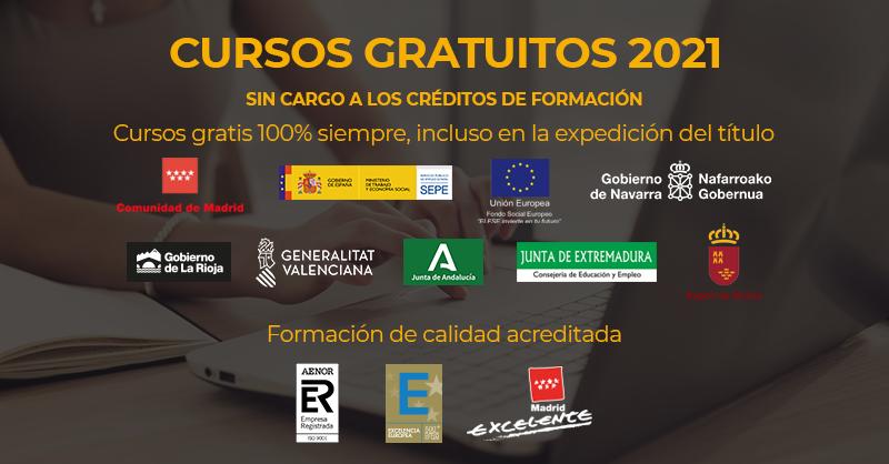 Cursos Online Gratis Para Trabajadores Y Autonomos Espana